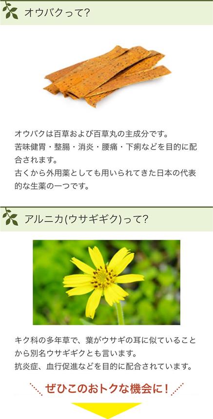 御嶽山百草湿布薬のご紹介